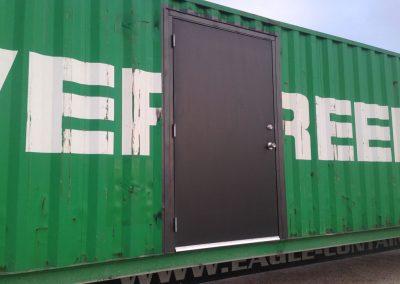 4' x 7' Door: $950