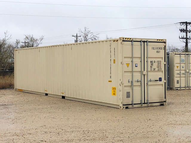 40' New, One-Trip, Double Door, High Cube